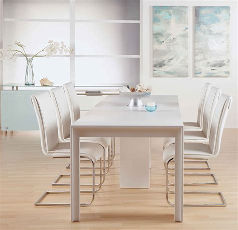 Extended Dining Room Tables by Lang Extension Dining Table Modern Dining Room Tables