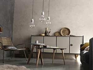 Peinture Béton Ciré : peinture a effet beton gris clair leroy merlin ~ Melissatoandfro.com Idées de Décoration