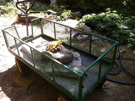 sandusky 5 cu ft folding utility cart fcw5424 the home