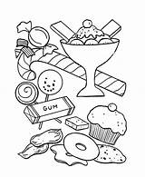 Coloring Cream Pages Cone Peanut Icecream Ice Butter Sandwich Sheets Sundae Kitty Printable Hello Getdrawings Getcolorings Bear Party Princess sketch template