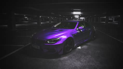 Bmw Sports Car Wallpaper With Purple Background by Cars Bmw Selective Coloring Purple Wallpapers Hd