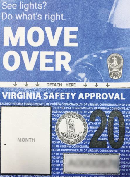 virginia redesigns inspection stickers  southwest times