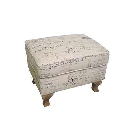 canapé repose jambes repose pieds baroque en tissu pouf à l 39 esprit classique