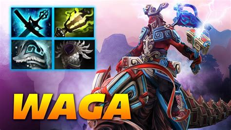 waga disruptor mid uncommon build dota 2 pro gameplay youtube