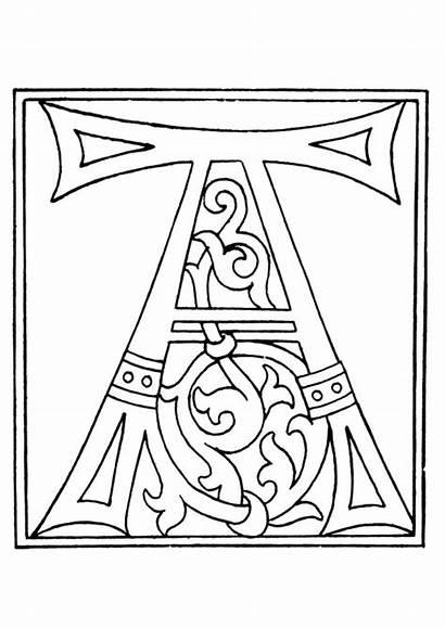 Coloring 01a Alphabet