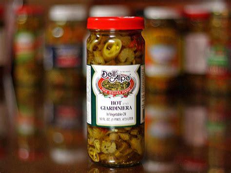 Hot Giardiniera Pickled Peppers Recipe — Dishmaps