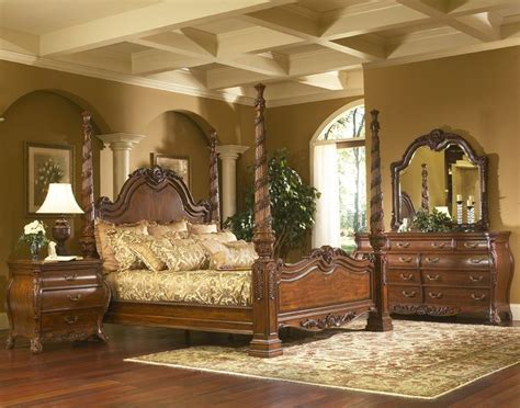 King Size Poster Bedroom Sets by King Charles Bedroom Furniture Set Collection With Poster