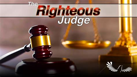 The Righteous Judge | Torah Family