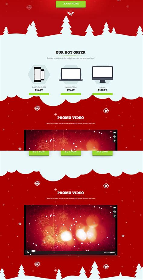 computer store muse template 9 best christmas website themes free premium templates