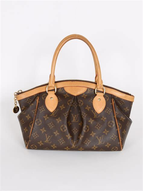 louis vuitton tivoli pm monogram canvas luxury bags