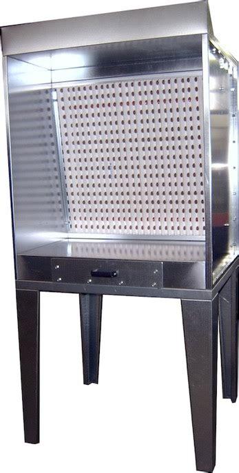 cabine verniciatura a secco mfp mini cabina di verniciatura a secco con piano di