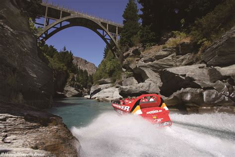 Jet Boat In Queenstown by Thewelltravelledman Shotover Jet Queenstown New