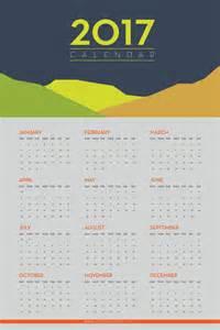 Free Printable Wall Calendar 2017