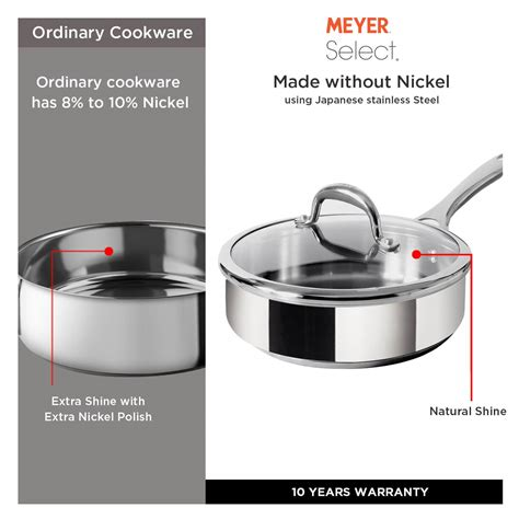tamil meaning pots cookware meyer saute 24cm pan stainless select steel