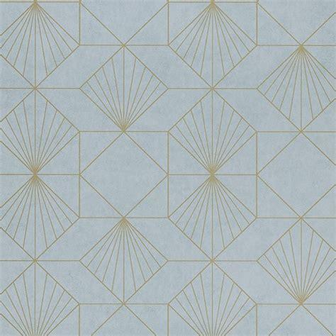 halcyon blue geometric wallpaper wallpaper