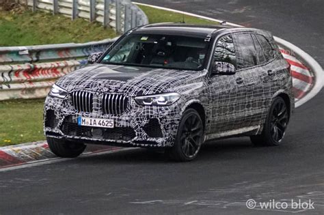 The 2020 Bmw X5 M Gets One Step Closer To Launch Time With