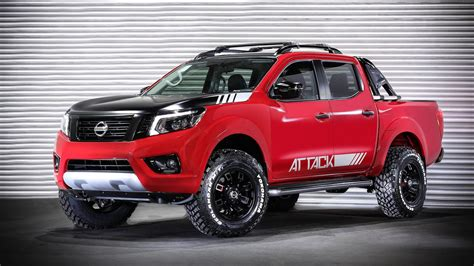 Nissan Frontier Attack Concept Shows Extra Offroad Prowess