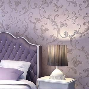Luxury Damask Embossed Victorian Textured Nonwoven ...