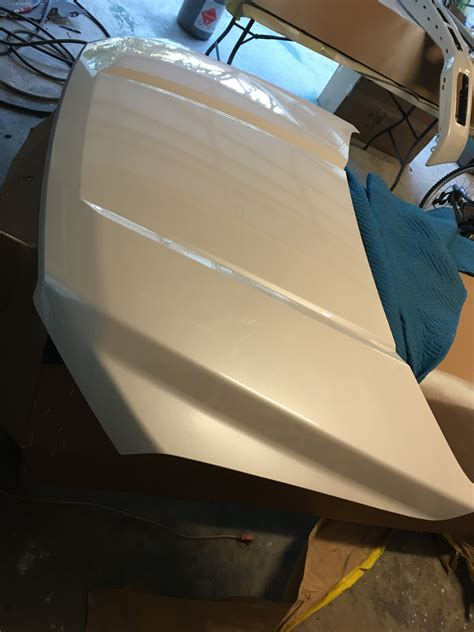 fs  lariat pearl white front  hood bumper