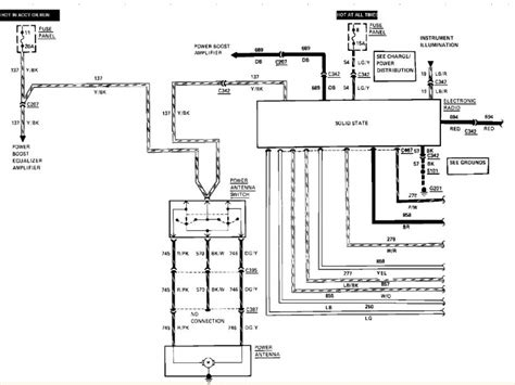 1997 lincoln town car wiring diagram wiring forums