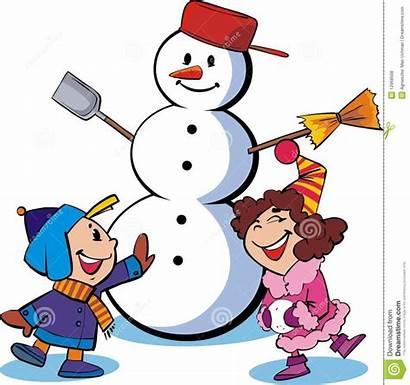 Snowman Children Schneemann Kinder Neve Snow Bambini