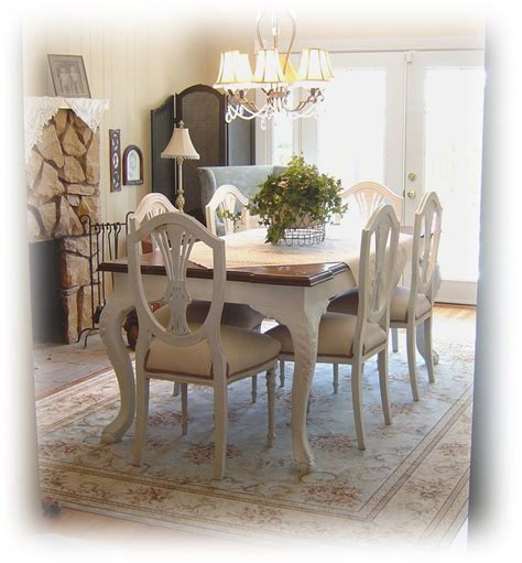 how to paint a dining room table with chalk paint painted dining room table marceladick com