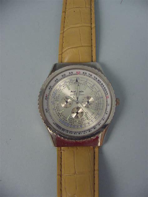 Man's Paul Jardin Chronograph Watch  Working Ebay