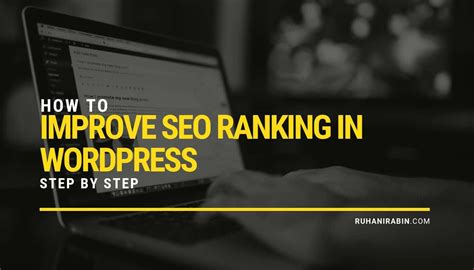 Seo Steps by How To Improve Seo Ranking In Step By Step