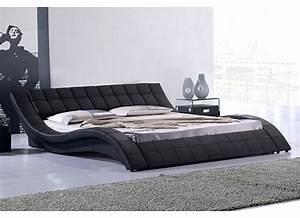 Matelas Hotellerie Haut De Gamme : lit haut de gamme noir kanjy 140 ~ Dallasstarsshop.com Idées de Décoration