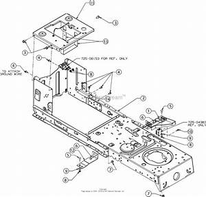 Mtd 13w277ss031  Lt 4200   2016  Parts Diagram For Frame