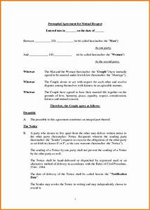 10 free printable prenuptial agreement form ledger paper With online prenuptial agreement template