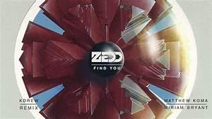Zedd ft. Matthew Koma & Miriam Bryant - Find You (KDrew ...