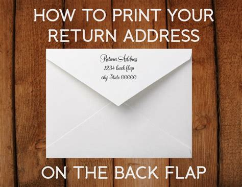 print  return address    flap