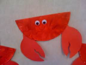 Crab Craft Ideas Ocean Theme