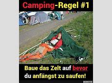 CampingRegel #1 Lustige Bilder, Sprüche, Witze, echt lustig