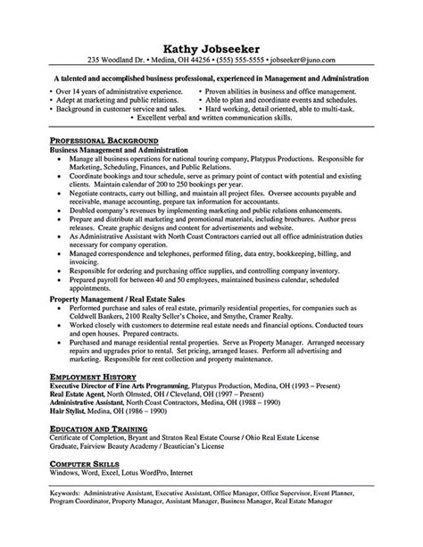 Property Manager Resume by Property Manager Resume Should Be Rightly Written To