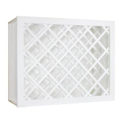 White Wood Wine Cabinet by Lakewood Cabinets 30x18x12 In All Wood Wine Rack Wall