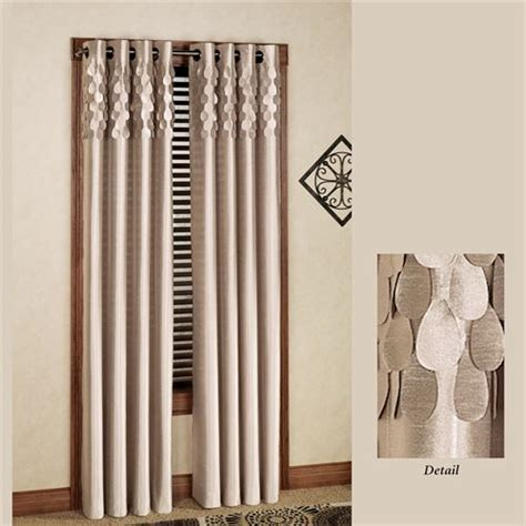 sheer curtain panels with grommets lulu semi sheer grommet curtain panels