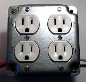 Arduino Controllable 4 Socket Outlet