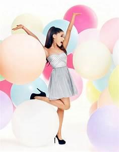 Ariana Grande Leggy For Lipsy London Photoshoot - Celebzz