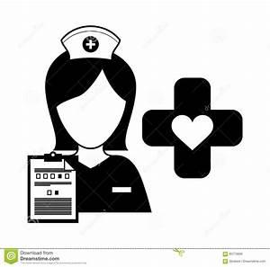 Medical care icon image stock illustration. Image of ...