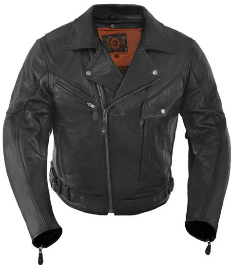 motorcycle jackets for men with armor true element mens motorcycle leather jacket with removable