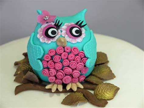 creative owl cake designs