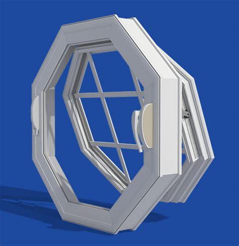 vinyl operable octagon window ventana usa