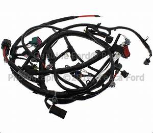 New Oem Engine Wiring Harness 2004 Ford F Series Sd Excursion  4c3z