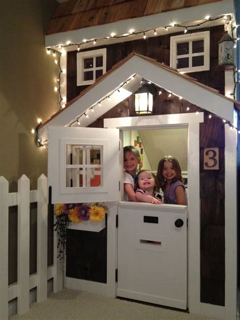 kids playhouse  stairs    home