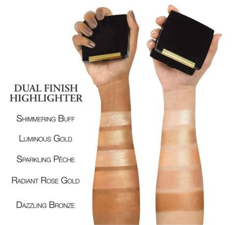 Lancome Highlighter lancome dual finish highlighter swatches trends