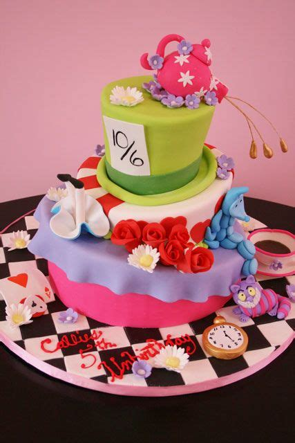 alice  wonderland custom birthday cake nj kids