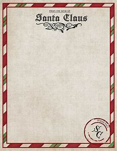 Santa claus letter template invitation template for Generic letter from santa