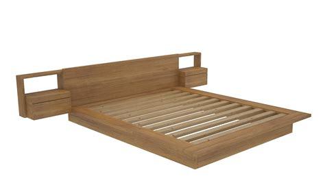 Platform Bed Frame by Vegas Custom Timber Platform Bed Frame